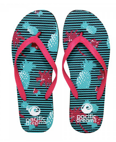 SUMMER FLIP FLOPS - PINEAPPLES