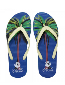SUMMER FLIP FLOPS - PALM TREES