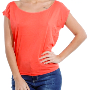 CORAL -Short Sleeve Top
