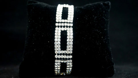 Diamond Rectangle Bracelet
