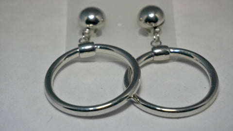 Thick Drop Earring