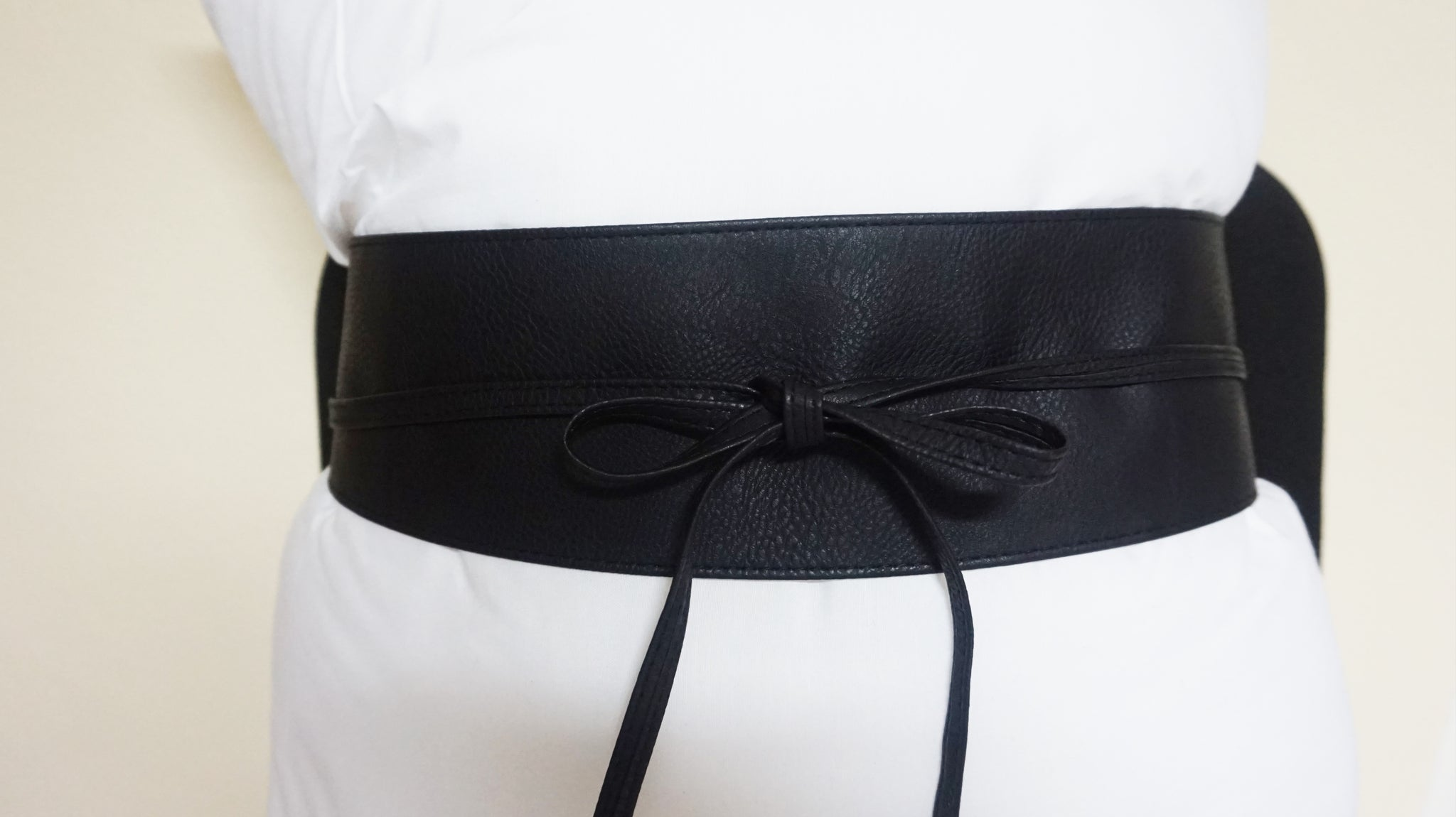 Tie Wrap Belt - Black
