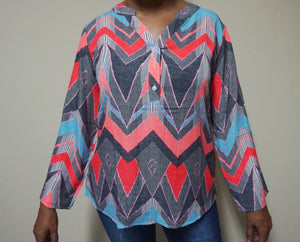 GEOMETRIC TUNIQ II - TOP