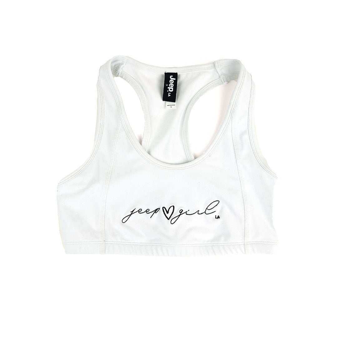 Jeep girl sports bra