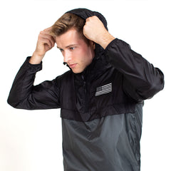 Light weight Color Block Windbreaker