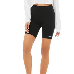 Active High Rise Biker Shorts