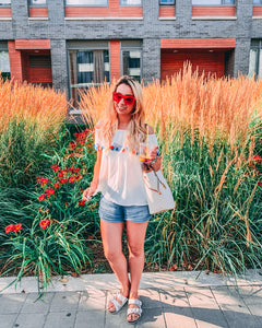 What I wore: time for an iced tea