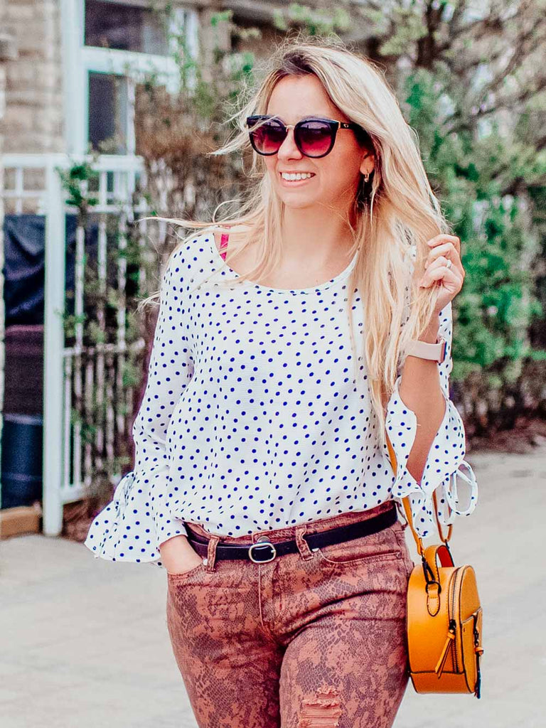 Polka Dot is the new basic white