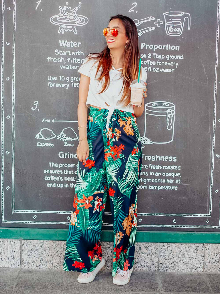 Bright Spring Pants