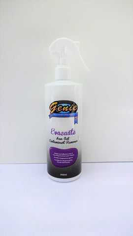 GENIE CAR CARE EVACUATE IRON FALL OUT REMOVER 500ML