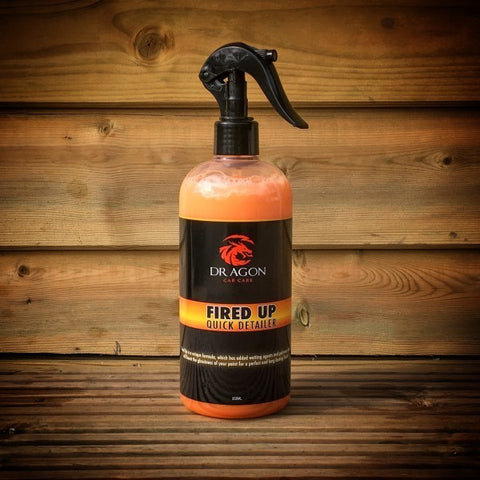 DRAGON CAR CARE FIRED UP QUICK DETAILER 500ML