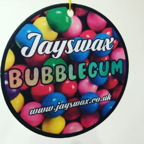 JAYS WAX BUBBLE GUM HANGING AIR FRESHENE
