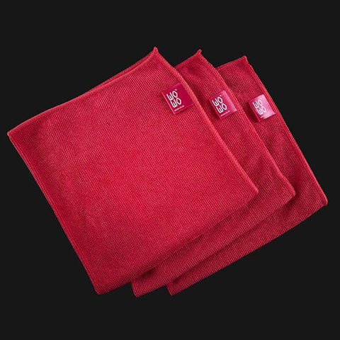 WO-WO 3 PIECE MICROFIBRE CLOTH SET