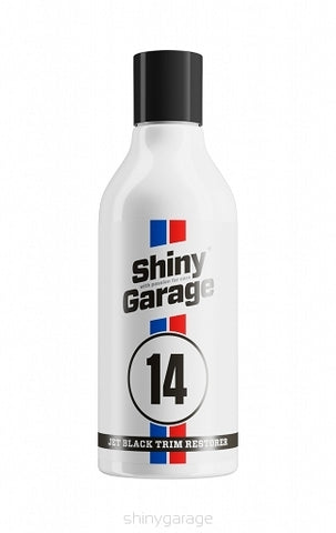 SHINY GARAGE JET BLACK TRIM 250ML