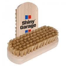 SHINY GARAGE LEATHER CLEANING BRUSH