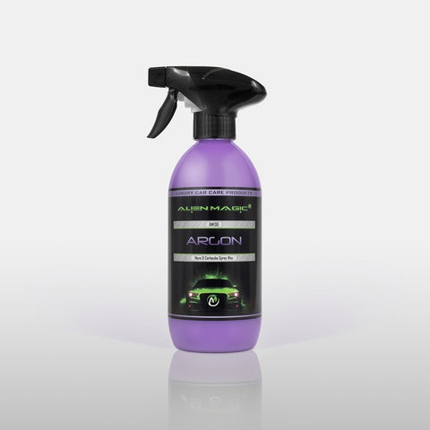 Argon - 500ml Nano & Carnauba Spray Wax ( Extreme Gloss )