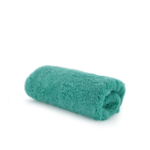 Super Plush - Green XL Professional Quality Buffing Towel 60x40