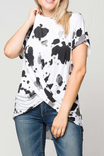 BLACK / WHITE PRINT TOP