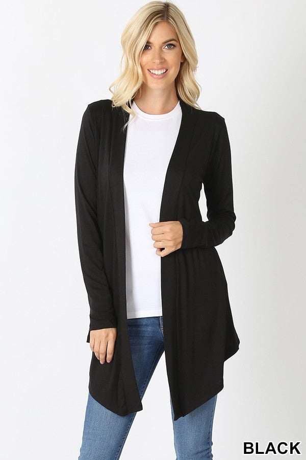 BASIC CARDIGAN - BLACK