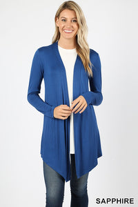 BASIC CARDIGAN - MULTIPLE COLORS - REG & PLUS