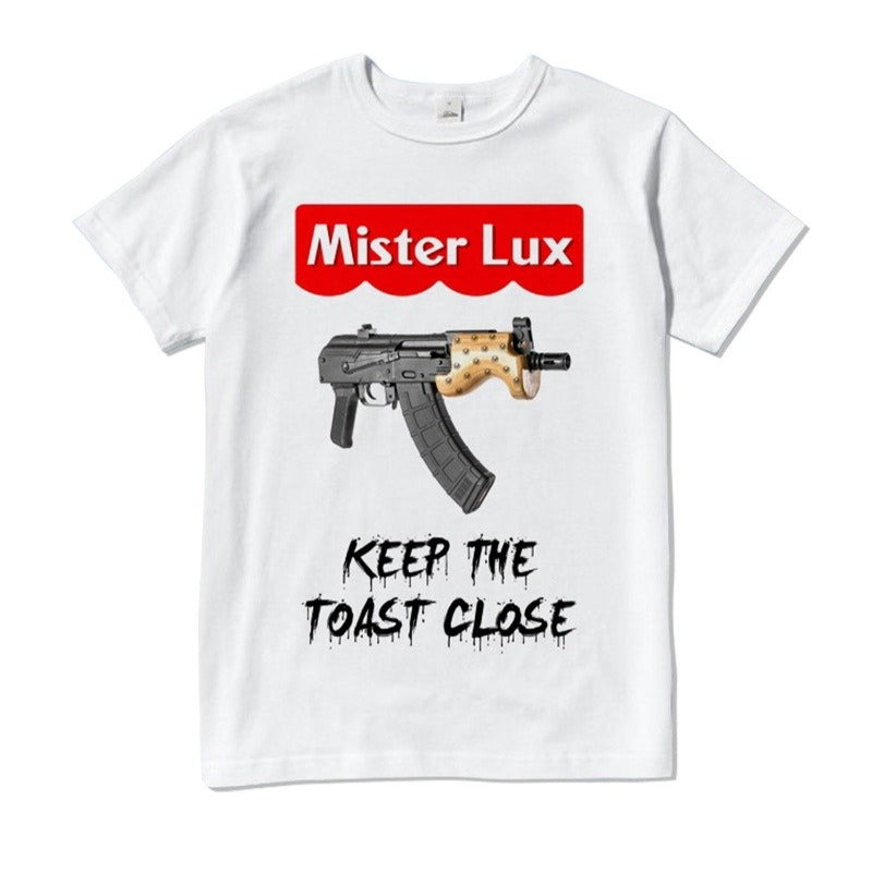 Mister Lux (Keep the Toast Close) Exclusive T-Shirt - Mister LUX