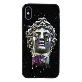Abstract Art Statue Medusa Head Cut iPhone Case - Mister LUX