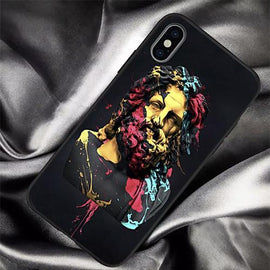 Abstract Art Statue Zeus iPhone Case - Mister LUX