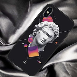 Abstract Art Statue Roman iPhone Case - Mister LUX