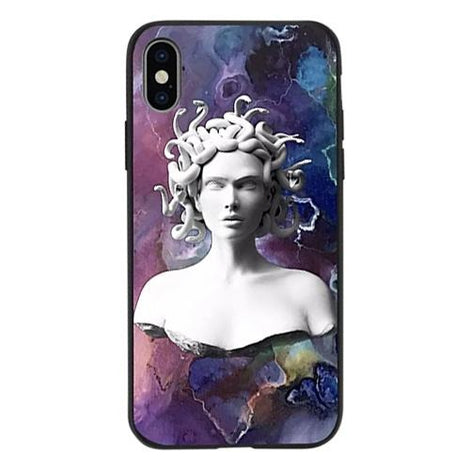 Abstract Art Statue Medusa Head iPhone Case - Mister LUX