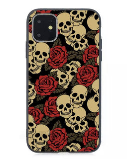 Rose Skull iPhone Case