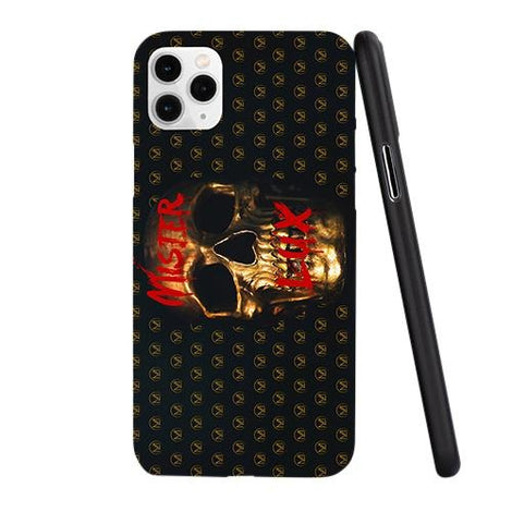 Mister Lux Golden Skull Monogram iPhone Case - Mister LUX
