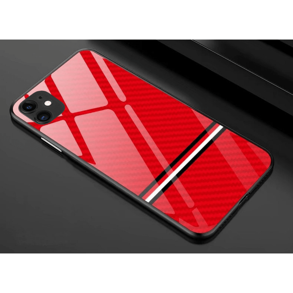 iPhone Carbon Case - Red - Mister LUX