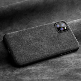 Alcantara Leather Case - Mister LUX