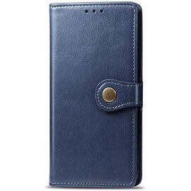 Luxury Leather Flip Wallet Holder Stand iPhone Case - Mister LUX