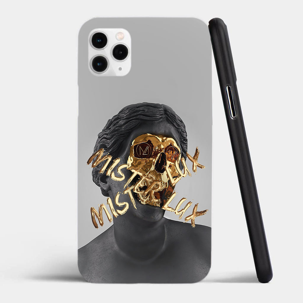 iPhone gold case