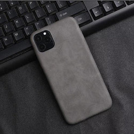 Soft Leather Business iPhone Case - Mister LUX