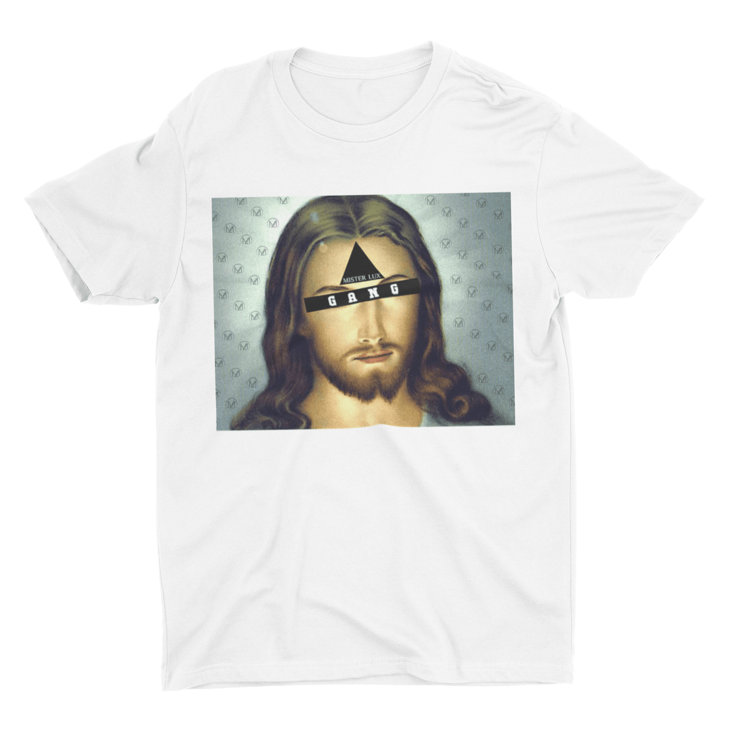 Mister Lux Jesus Third Eye GANG T-Shirt - Mister LUX