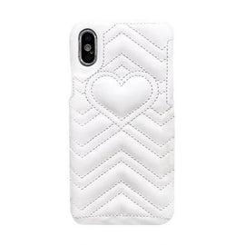 Luxury Leather Love Heart iPhone Case - Mister LUX