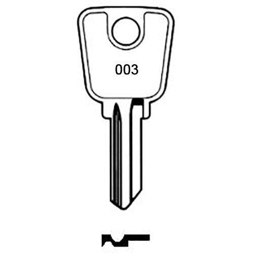003 FIRE DEPARTMENT KEY