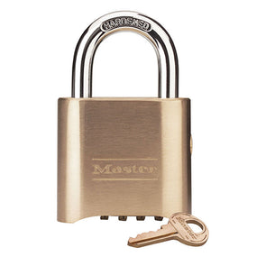 MASTER BRASS COMBINATION PADLOCK 0176