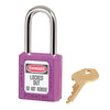 MASTERLOCK 410 THERMOPLASTIC SAFETY PADLOCK (VARIOUS COLOURS)