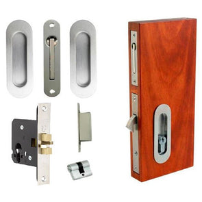 ZANDA OVAL SLIDING DOOR EURO LOCK KIT