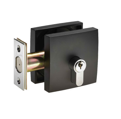 GAINSBOROUGH 1846SM SQUARE SINGLE CYLINDER DEADBOLT