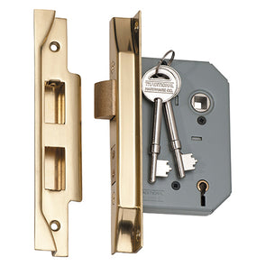 TRADCO REBATED 5 LEVER MORTICE LOCK
