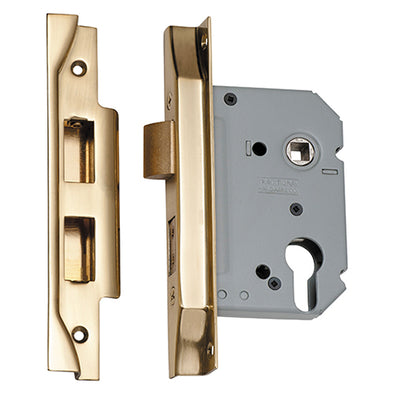 TRADCO REBATED EURO MORTICE LOCK (47.5MM PITCH)
