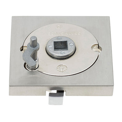 GAINSBOROUGH 2809 SQUARE PRIVACY ADAPTOR STAINLESS STEEL
