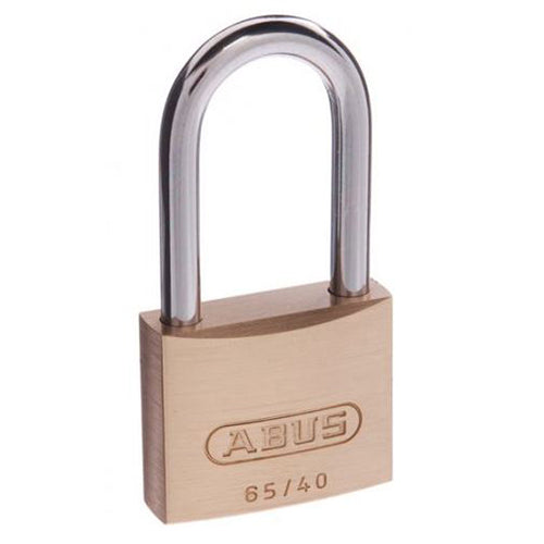 ABUS PADLOCK 65/40 WITH 40MM EXTENDED SHACKLE