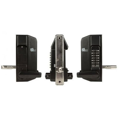 BORG DIGITAL GATE LOCK 3400 KEYPAD LEVER/LEVER BLACK