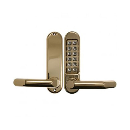 BORG DIGITAL LOCK 5001 POLISHED BRASS