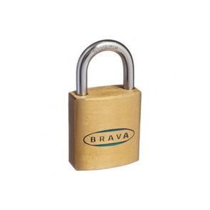 BRAVA PADLOCK 25mm KEYED ALIKE